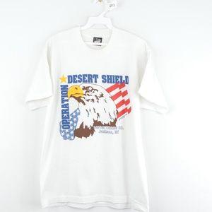 Vintage 90s Operation Desert Shield Military Eagle